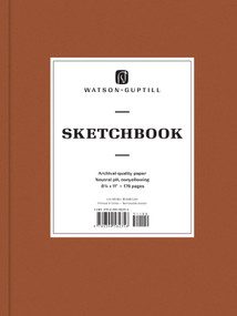 Large Sketchbook (Chestnut Brown) by Watson-Guptill, 9780399582356
