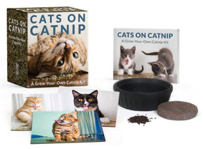 Cats on Catnip (A Grow-Your-Own Catnip Kit) (Miniature Edition) by Andrew Marttila, 9780762464111