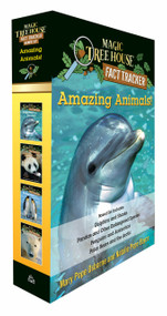 Amazing Animals! Magic Tree House Fact Tracker Boxed Set (Dolphins and Sharks; Polar Bears and the Arctic; Penguins and Antarctica; Pandas and Other Endangered Species) by Mary Pope Osborne, Natalie Pope Boyce, Sal Murdocca, 9780525645382