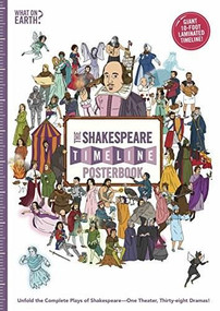 The Shakespeare Timeline Posterbook (Unfold the Complete Plays of Shakespeare-One Theater, Thirty-eight Dramas!) by Christopher Lloyd, Andy Forshaw, 9780995482081