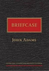 Briefcase by John Adams, 9781869404918