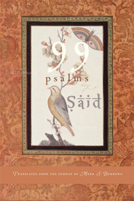99 Psalms by SAID, Mark S. Burrows, 9781612612942