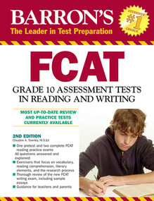 FCAT Grade 10 Assessment Tests in Reading and Writing by Claudine Townley, 9780764141997