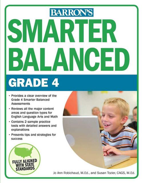Smarter Balanced Grade 4 by JoAnn Robichaud, Susan Tozier, 9781438009223
