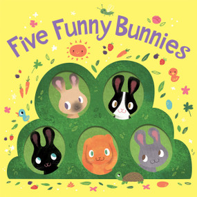 Five Funny Bunnies (board book) by Houghton Mifflin Harcourt, Hilli Kushnir, 9781328966032