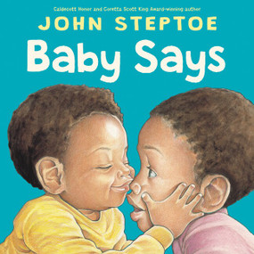 Baby Says Board Book by John Steptoe, John Steptoe, 9780062847539