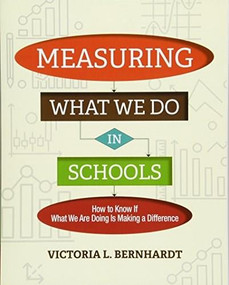 Measuring What We Do in Schools (How to Know If What We Are Doing Is Making a Difference) by Victoria L. Bernhardt, 9781416623977