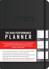 The High Performance Planner by Brendon Burchard, 9781401957230