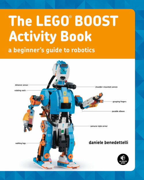 The LEGO BOOST Activity Book by Daniele Benedettelli, 9781593279325