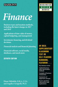 Finance by Angelico Groppelli, Ehsan Nikbakht, 9781438010366