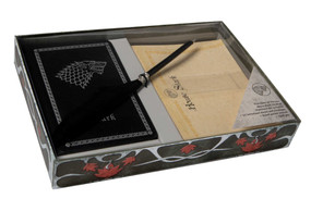 Game of Thrones: House Stark: Desktop Stationery Set (With Pen) by Insight Editions, 9781683832744