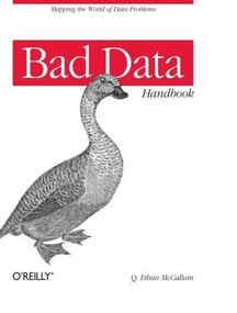 Bad Data Handbook (Cleaning Up The Data So You Can Get Back To Work) by Q. Ethan McCallum, 9781449321888