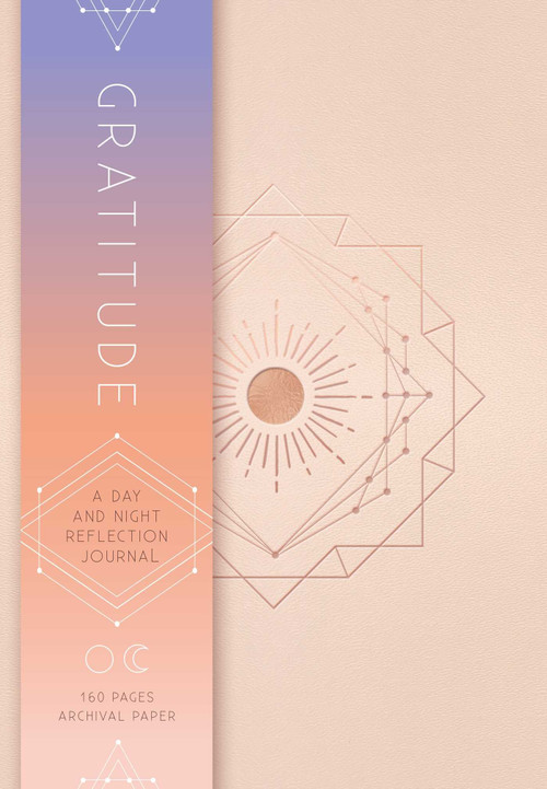Gratitude (A Day and Night Reflection Journal (90 Days)) by Insight Editions, 9781683835509