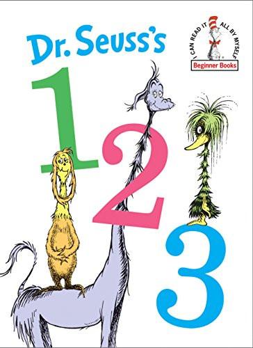 Dr. Seuss's 1 2 3 by Dr. Seuss, 9780525646051