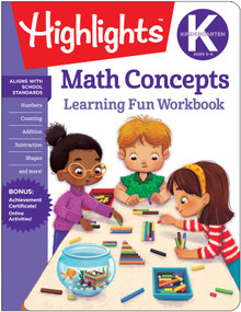 Kindergarten Math Concepts by Highlights Learning, 9781684372836
