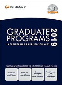 Graduate Programs in Engineering & Applied Sciences 2019 (Grad 5), 9780768942255