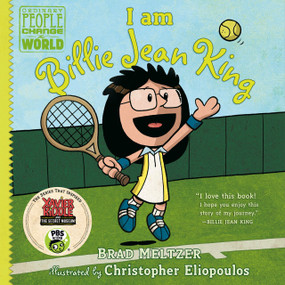 I am Billie Jean King by Brad Meltzer, Christopher Eliopoulos, 9780735228740
