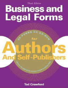 Business and Legal Forms for Authors and Self Publishers by Tad Crawford, 9781581153958