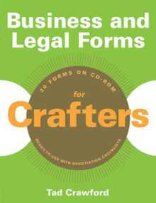 Business and Legal Forms for Crafters by Tad Crawford, 9781581159158