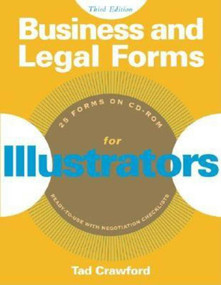 Business and Legal Forms for Illustrators by Tad Crawford, 9781581153644