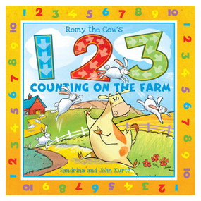 Romy the Cow's 123 Counting on the Farm by John Kurtz, Sandrina Kurtz, 9781631582844