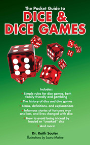 The Pocket Guide to Dice & Dice Games by Keith Souter, Laura Matine, 9781620871805