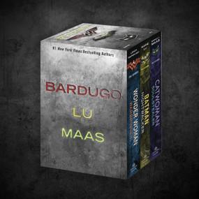 The DC Icons Series Boxed Set (Catwoman; Batman; Wonder Woman) by Leigh Bardugo, Marie Lu, Sarah J. Maas, 9781984848987