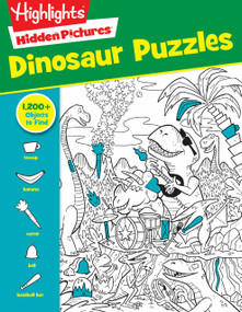 Dinosaur Puzzles by Highlights, 9781629797809