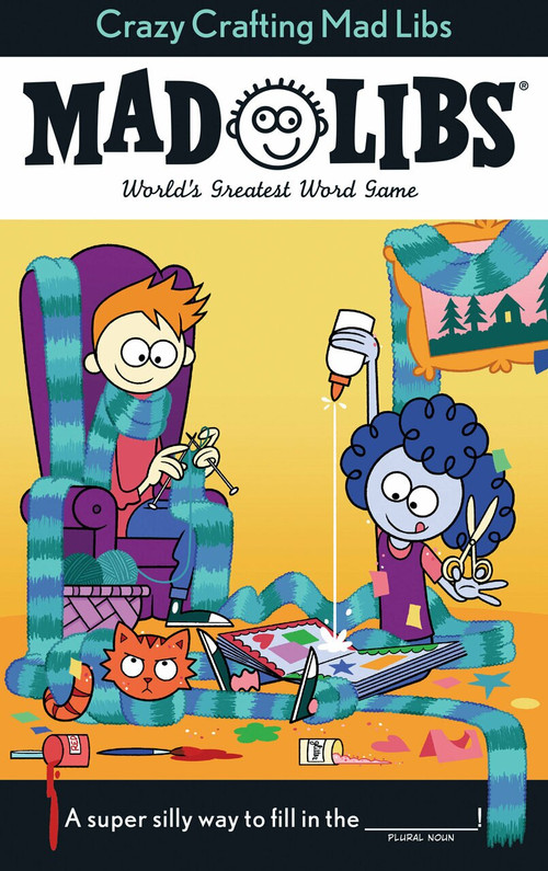 Crazy Crafting Mad Libs by Kristin Conte, 9781524792817