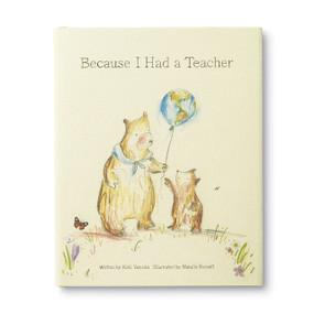 Because I Had A Teacher by Kobi Yamada, 9781943200085