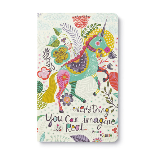 Everything you can imagine is real - Write Now Journal, 9781943200313
