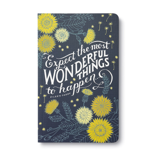 Expect the most wonderful things to happen - Write Now Journal, 9781943200771