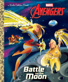 Battle on the Moon (Marvel Avengers) by John Sazaklis, Penelope R. Gaylord, 9781984847867