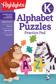 Kindergarten Alphabet Puzzles by Highlights Learning, 9781684376582