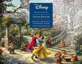 Disney Dreams Collection Thomas Kinkade Studios Disney Princess Coloring Poster by Thomas Kinkade, 9781449497071