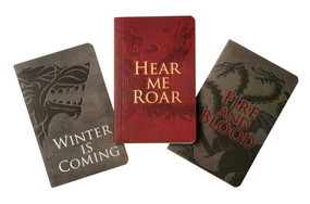Game of Thrones: Pocket Notebook Collection (Set of 3): House Words (Miniature Edition) by Insight Editions, 9781683836629