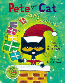 Pete the Cat Saves Christmas - 9780062945167 by Eric Litwin, James Dean, Kimberly Dean, 9780062945167