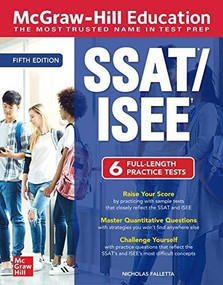 McGraw-Hill Education SSAT/ISEE, Fifth Edition by Nicholas Falletta, 9781260458039