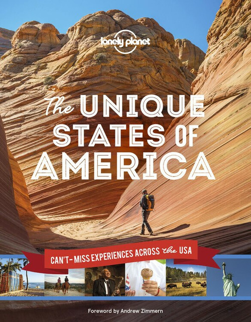 The Unique States of America (Miniature Edition) by Lonely Planet, Lonely Planet, 9781788686419