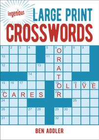 Large Print Crosswords - 9781789501193 by Ben Addler, 9781789501193