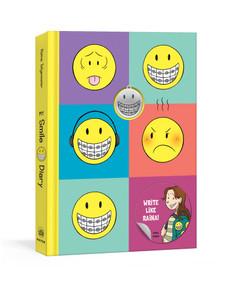 My Smile Diary (An Illustrated Journal with Prompts) by Raina Telgemeier, 9780593135624