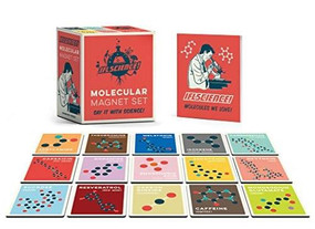 IFLScience Molecular Magnet Set (Say It With Science!) (Miniature Edition) by Paul Parsons, 9780762494521