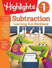 First Grade Subtraction by Highlights Learning, 9781684379279
