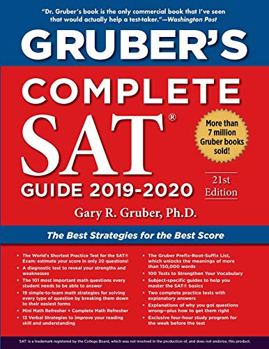 Gruber's Complete SAT Guide 2019-2020 by Gary Gruber, 9781510754188