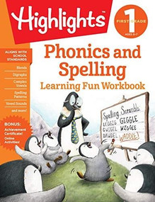 First Grade Phonics and Spelling by Highlights Learning, 9781684379255