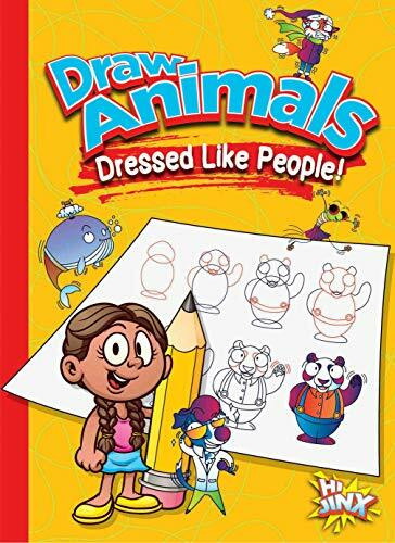 Draw Animals Dressed Like People! by Luke Colins, 9781644660713