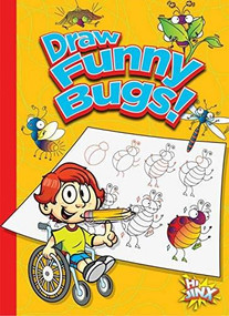 Draw Funny Bugs! by Luke Colins, 9781644660737