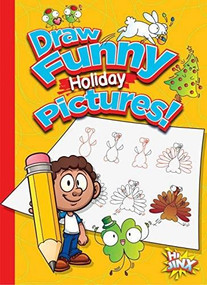 Draw Funny Holiday Pictures! by Luke Colins, 9781644660744