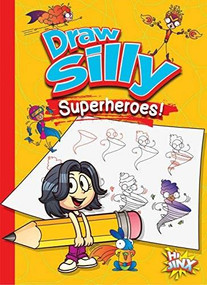 Draw Silly Superheroes! by Luke Colins, 9781644660751