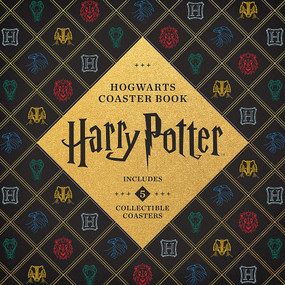 Harry Potter Hogwarts Coaster Book (Includes 5 Collectible Coasters!) by Danielle Selber, 9780762467693